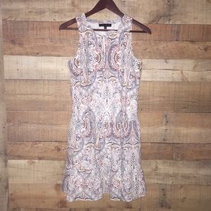 Sanctuary | Paisley Print Sleeveless Dress XS